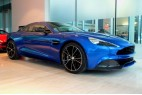 Aston Martin Vanquish V12, Carbon, kůže, NAVI